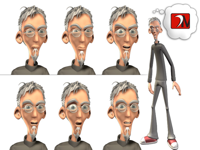 Chris Wall, 3D Animation, Blink and the Peabodies