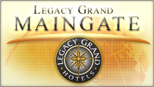 Website Design for Legacy Grand Main Gate
